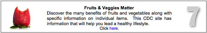 Fruits and Veggies Matter Website