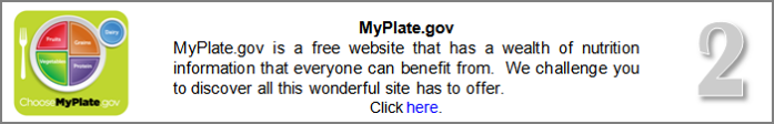 Go To MyPlate.gov